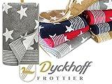 Frottierserie aus dem Hause Dyckhoff - 3er-Pack Handtücher oder ein Duschtuch - elegantes...