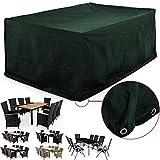 Abdeckung Sitzgruppe 8 + 1 ✓ Modellauswahl ✓ Sitzgruppe Stühle + Tische ✓ 308 x 138 x 89cm -...