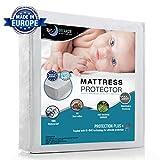 Wasserdichter Matratzenschoner für Kinder (70x140cm) - Babybett Atmungsaktiv, Anti-Allergisch gegen...