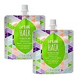 La Bang Body Repair Me Lime Hair Mask - Natural Vegan Ingredients - 2 Packs, 1.7 Fl. Oz./50ml