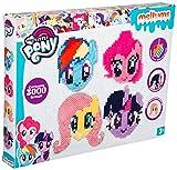 Sambro MLP4-4620 Bügelperlen Meltumz My Little Pony, 3000 Perlen und Zubehör, bunt