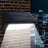 Solar Wandleuchte, CroLED Solarleuchte 35 LED Solarlampen Solar Aussenleuchte Außenwandleuchte...