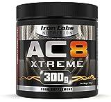 AC8 Xtreme | Pre-Workout Nahrungsergänzungsmittel | Energie & Muskeln | 20-40 Portionen | 300 g...