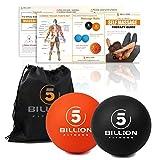 PROCIRCLE Massagebälle - Mobility Bälle & Lacrosse Bälle für die Physiotherapie - Hochdichte...