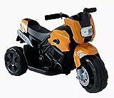 Kinderfahrzeug- Elektro Kindermotorrad - Dreirad - 3 Farben zur Auswahl (Orange)