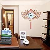 HONGYUANZHANG Uhr Wohnzimmer Wall Clock Clock Schlafzimmer Haushalt Wand Dekoration Wanduhr (63 * 71...