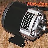 Getriebemotor 24V / 36V 350W 10,8Nm 330U/min, MY1016Z3, mit Montagefuß, Stirnradgetriebe E-Motor,...