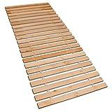 Betten-ABC Premium Rollrost (Stabiles Erlenholz, mit 23 Leisten und Befestigungsschrauben, Größe...