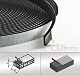 CTA Dichtungen 10m Rolle Moosgummi 10x3 mm EPDM schwarz 1C16-13