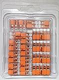 Wago Verbindungsklemmen GENISYS-SET 5x221-412,5x221-413,5x 221-415 in praktischer transparenter...