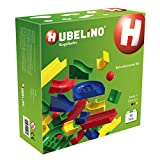Hubelino 420039 - Kugelbahn - Bahnelemente Set - ab 4 Jahre (100% kompatibel mit Duplo) - 50 Teile