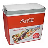 EZetil Coca-Cola Sun&Fun 25 IML Mirabelle Passiv-Kühlbox, ca. 24 Liter Kühlraum, rot/weiß