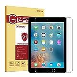 OMOTON Panzerglas Schutzfolie für das neu iPad 9,7 2017,  iPad Pro 9.7 / iPad Air mit [2,5D...