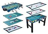 KMH, Spieltisch 10 in 1 / Multigame Tisch / Multifunktionstisch / Billard / Kicker / Gleithockey /...