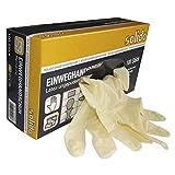 SOLIDO Einweghandschuh Latex | ungepudert | Größe XL | 100 Stück