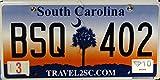 USA Nummernschild SOUTH CAROLINA ~ US Kennzeichen LICENSE PLATE ~ Blechschild