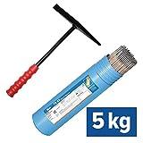 5kg TECHNOLIT TS 92 Allround-Elektroden inkl. Schlackenhammer für Profis, Größe:3.25 x 350 mm