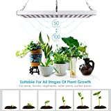 Amzdeal Pflanzenlampe, LED Pflanzen Lampe, Wachstumslampe Blumenlampe, Pflanzenlicht...