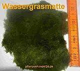 6 Matten Unterwasserrasen, Größe je Matte min. 5x7 cm, Wassergras, natürlicher Filter