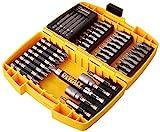 Dewalt Schrauberbit-Set in Minisafe (42-tlg. 25 mm + 50 mm Schrauber-Bits, in robustem Tough Case,...