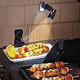 LED BBQ Grill Lampe Licht Leuchten 360 ° Drehung Beleuchtung Nachtlicht Batteriebetrieben langlebig...