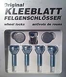Kleeblatt RAC10907 Felgenschloss Schrauben 12 x 1/ 5 43 mm Conical