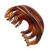 yishenyishi rutschfestem Griff großer Kristall Kunststoff Octopus Kiefer Clips Haarklammer Banana...