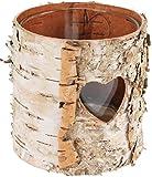 Windlicht Baumrinde mit Herz | Teelichthalter | Natur | tolle Deko für viele Bereiche | Wohnzimmer...