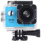 Vemont Action Kamera 2,0 Zoll Bildschirm, WIFI 12MP Full HD 1080P 30m/98 Fuß Wasserdichte Sports...