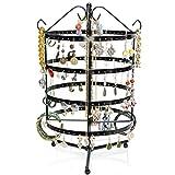 Schmuckständer Drehbar - Schwarz ca. 35 x 20 x 20 cm - Ohrring Schmuckhalter Aufbewahrung &...