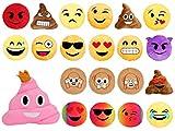 Alsino Emoji Kissen Emoticon Emojicon Lach Smiley Kissen Dekokissen Stuhlkissen Sitzkissen gelb...