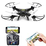 Holy Stone FPV Drone Quadrocopter mit 720P HD Kamera, WIFI live übertragung HS110 RC Helikopter...