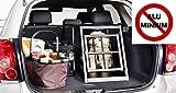 IMPAG® Hunde-Transportbox Hundebox für Auto / Kofferraum | Aus stabilem Metall in 2 Größen |...