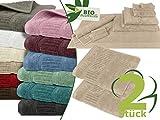 Respektvoll leben mit Natur und Mensch - Handtuchserie BIO - erhältlich in 12 natürlichen Farben...