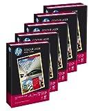 Hewlett Packard 10100163 Colour Laser Kopierpapier CHP350, DIN A4, Papierstärke 100 g/qm, 5 x 500...
