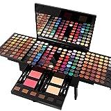 Pure Vie Professionelle 180 Farben Lidschatten Concealer Rouge und Palette Makeup Kit - Ideal für...