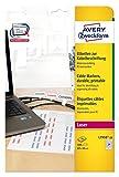 Avery Zweckform L7950-20 Etiketten (zur Kabelbeschriftung, A4, 480 Stück, 60 x 40 mm) 20 Blatt...