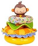 Mattel Fisher-Price CCG08 - Äffchen-Pyramide mit 3 Ringen in verschiedenen Farben