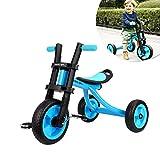 Fascol Kinder Dreirad ab 2-5 Jahre mit Rutschfest Pedal Kinderfahrzeuge Belastbarkeit bis 25 KG,...