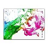 Memoboard 60 x 40 cm, Textur - Textur Farbe - Glasboard Glastafel Magnettafel Memotafel Pinnwand...