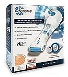 Vakuum Läusekamm V-Comb - USB kompatibel – wirksames Läusemittel zur Vorbeugung, Behandlung und...