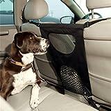 Hundebarriere, Legendog Gitter für Auto Hund Haustier Barriere Sehen Durch Netz Hund Auto Rücksitz...