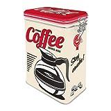 Nostalgic-Art 31105 USA - Strong Coffee Served Here   Retro Aromadose  Blech-Dose   Kaffee-Dose  ...
