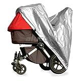 alucush Abdeckung für Kinderwagen Hartan RACER GT Regenschutz Regenverdeck