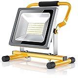BRANDSON - LED Baustrahler 30W | Arbeitsleuchte | Arbeitsscheinwerfer | Bauscheinwerfer | inkl....