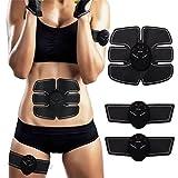 LUMAR ABS Trainer Ab Gürtel, Bauchmuskeln Toner, body fit Toning Gürtel, ab Toner Fitness Training...