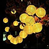 InnooLight Solar Lichterkette Warmweiß Lampion 30LEDs 6m Laterne Wasserdichte Gartenbeleuchtung mit...