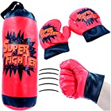 German Trendseller Kinder Boxsack inkl. Gratis Handschuhe┃ NEU ┃ Boxset ┃ Sport ┃ Training...