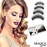 Magnetische Wimpern, Dual Magnetic Eyelashes, 100% 3D Mink Wimpern, Wiederverwendbar Und Grausamkeit...