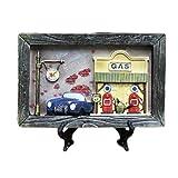 Holzrahmen Blue Car Foto / Album Frame / Kinderbilderrahmen